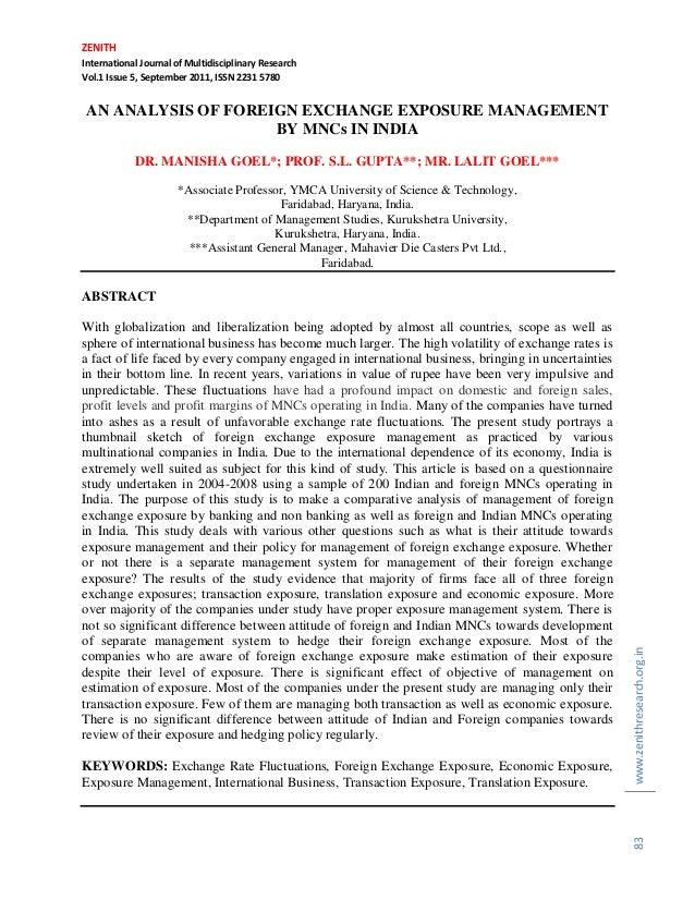 ZENITH International Journal of Multidisciplinary Research Vol.1 Issue 5, September 2011, ISSN 2231 5780 www.zenithresearc...