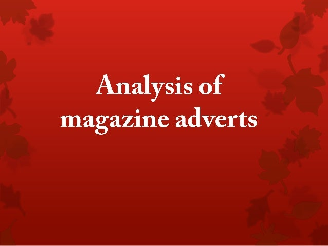 Analysis of mag ads