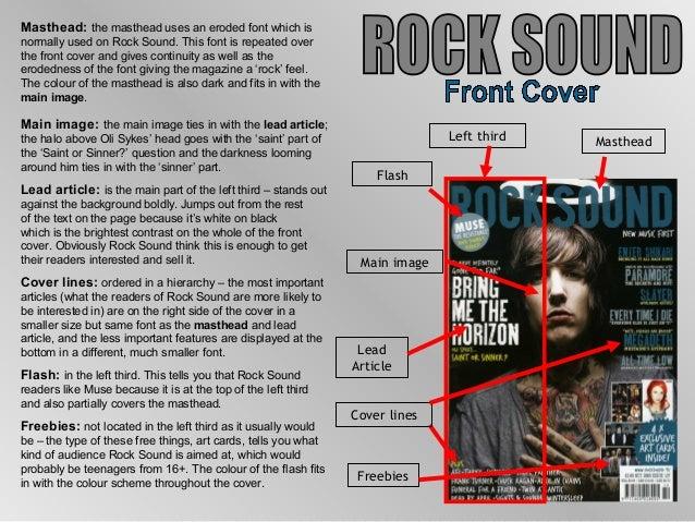 Analysis of music magazines