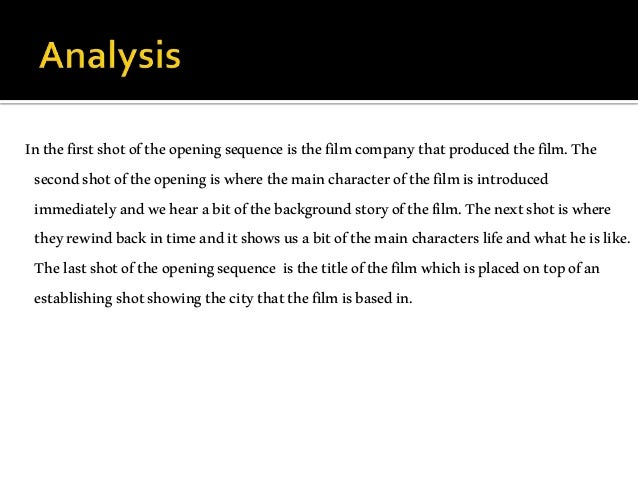 Analysis of romantic comedies?