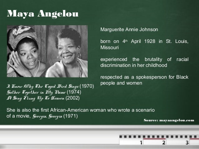a analysis of other characters influence on marguerite in the book i know why the caged bird sings List of i know why the caged bird sings characters who is the focus of the book, whom angelou calls the maya character characters marguerite.