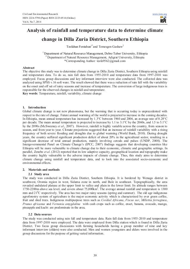 Civil and Environmental Research www.iiste.org ISSN 2224-5790 (Paper) ISSN 2225-0514 (Online) Vol.6, No.7, 2014 39 Analysi...