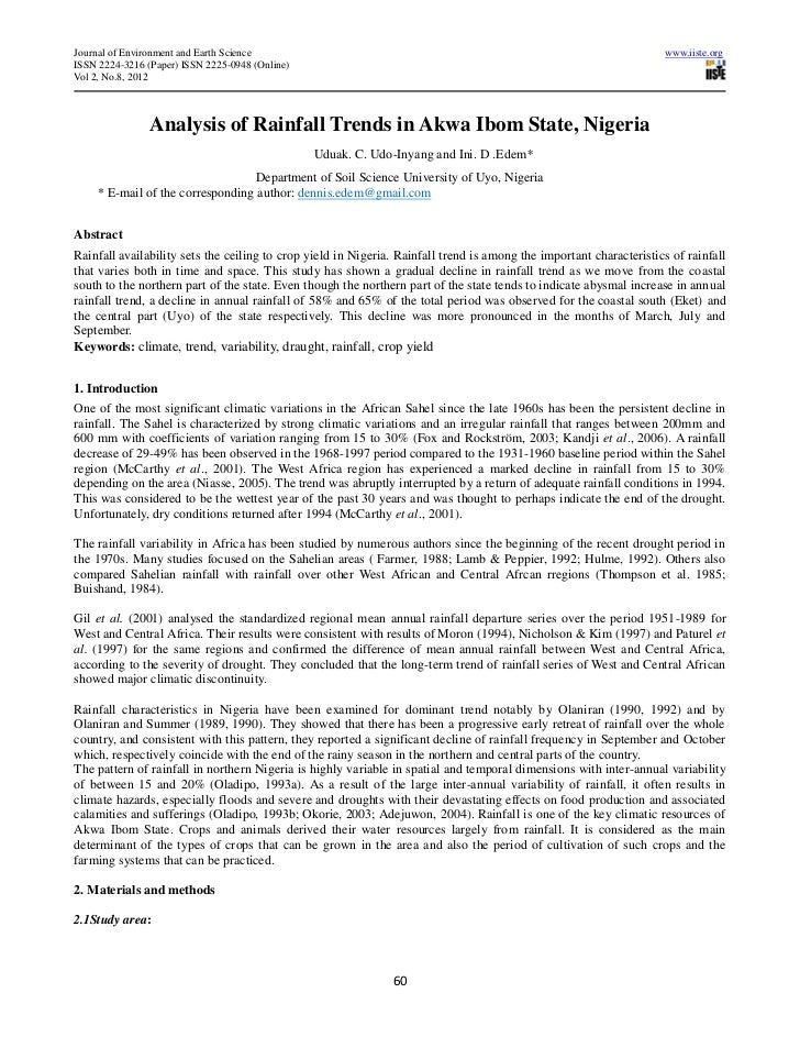 Journal of Environment and Earth Science                                                                             www.i...