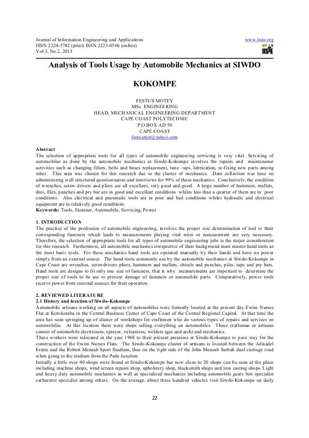 Journal of Information Engineering and Applications                                                   www.iiste.orgISSN 22...
