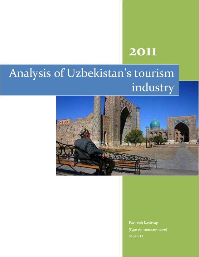 Analysis of uzbekistan's tourism industry