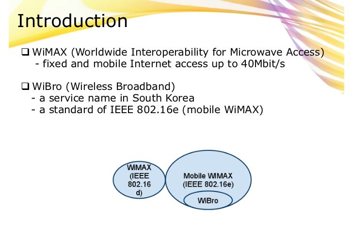 thesis paper on wimax