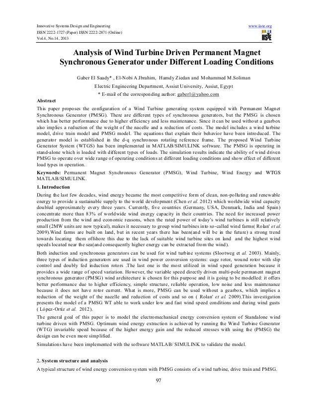 Innovative Systems Design and Engineering ISSN 2222-1727 (Paper) ISSN 2222-2871 (Online) Vol.4, No.14, 2013  www.iiste.org...