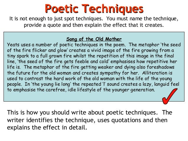 an analysis of the reason poets write poems U sing the poem below as an example, this section will introduce you to some of the major characteristics of emily dickinson's poetry dickinson's poems are.