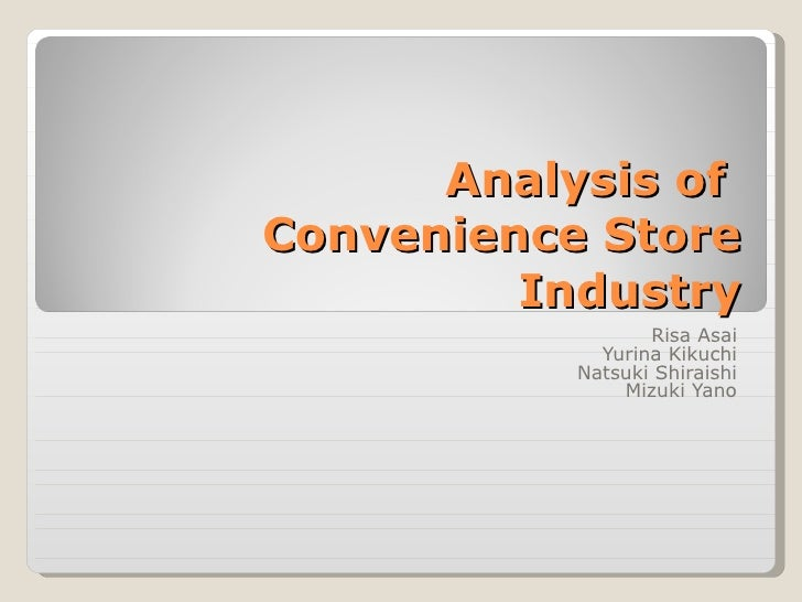 Convenience Store Sector