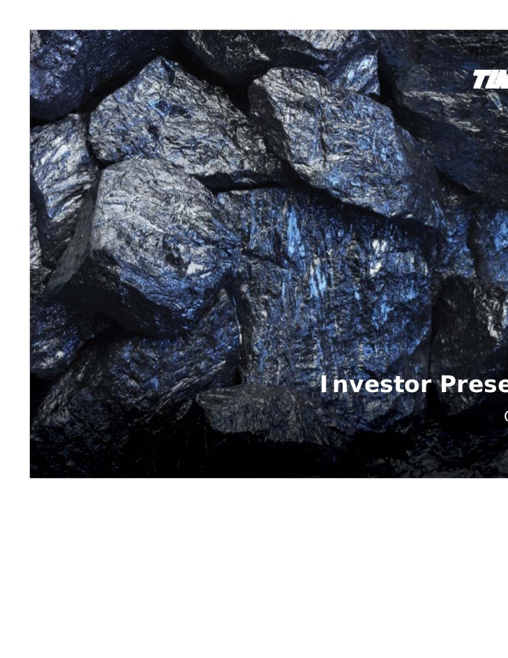 Analyst day timminco investor presentation october 12 fin