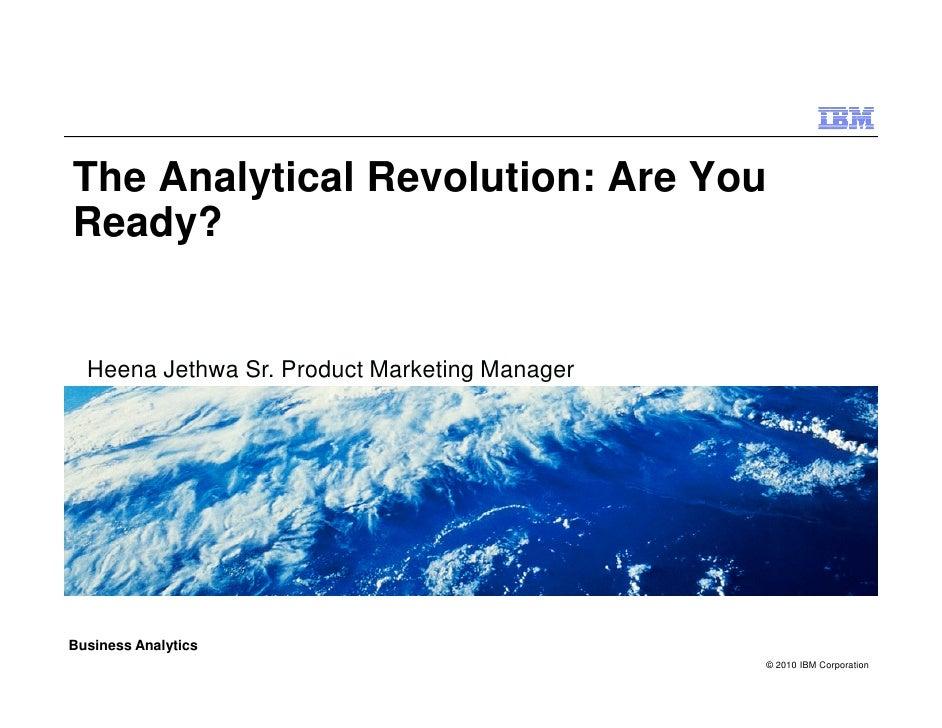 Analytical Revolution