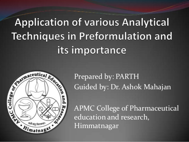 Prepared by: PARTHGuided by: Dr. Ashok MahajanAPMC College of Pharmaceuticaleducation and research,Himmatnagar
