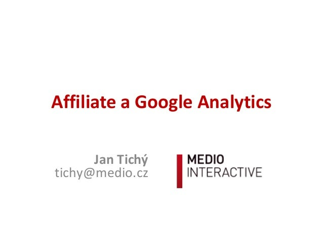 Affiliate a Google Analytics