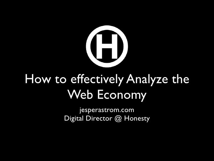 Web Analysis beyond KPIs - Using data to solve problems