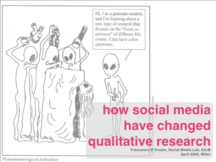 how social media       have changed qualitative research       Francesco D'Orazio, Social Media Lab, IULM                 ...