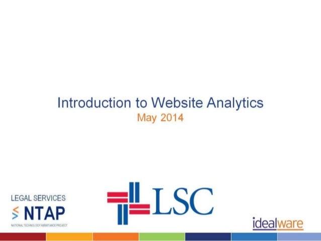 Intro to Website Analytics
