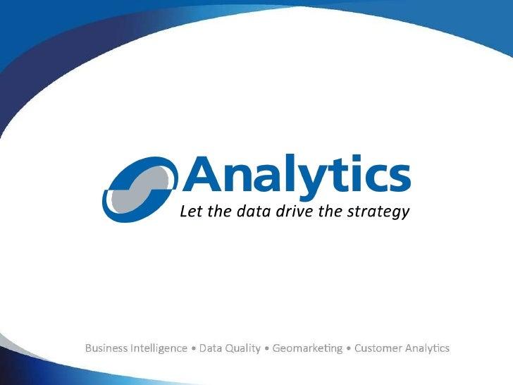 Analytics presentación
