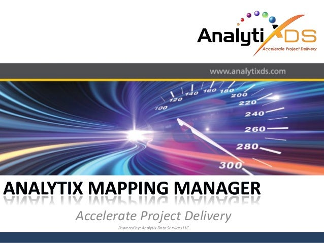 Analyti x mapping manager product overview presentation