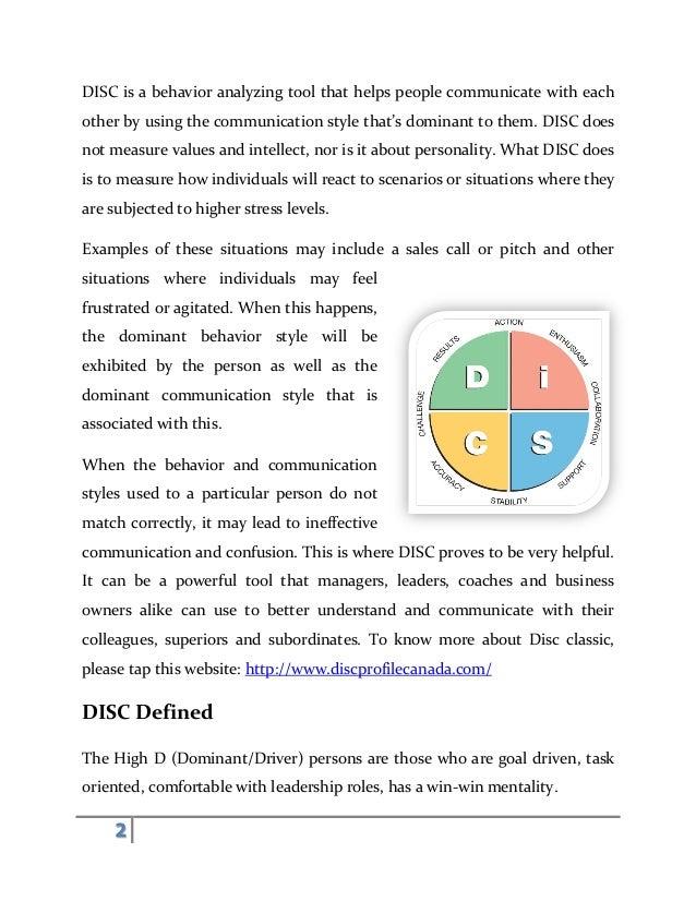 тест Disc онлайн бесплатно - фото 2