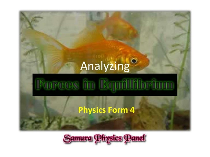 AnalyzingPhysics Form 4