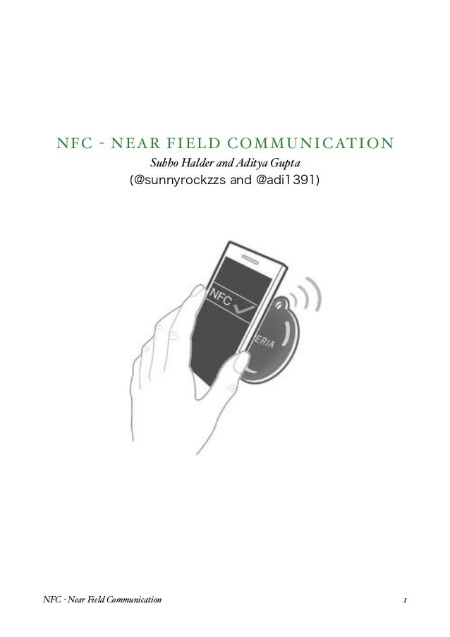 Analyzing near field communication(nfc) security
