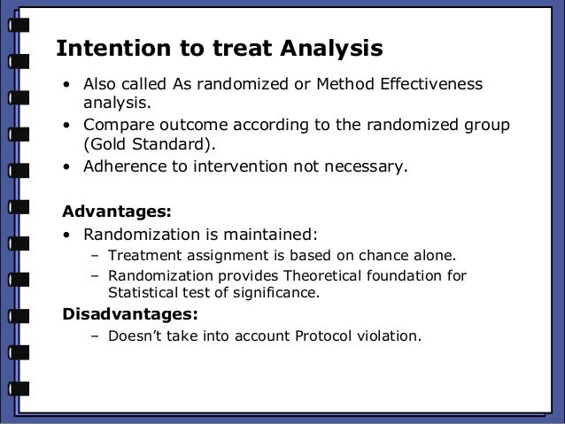 an analysis of the advantages and limitations of the kyoto protocol Intention to treat analysis per protocol analysis may be appropriate when analysing adverse events in drug trials, as it can be argued that side-effects of actual treatment received is clinically relevant 'modified itt' analysis.