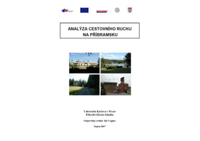 Analýza cestovního ruchu na Příbramsku
