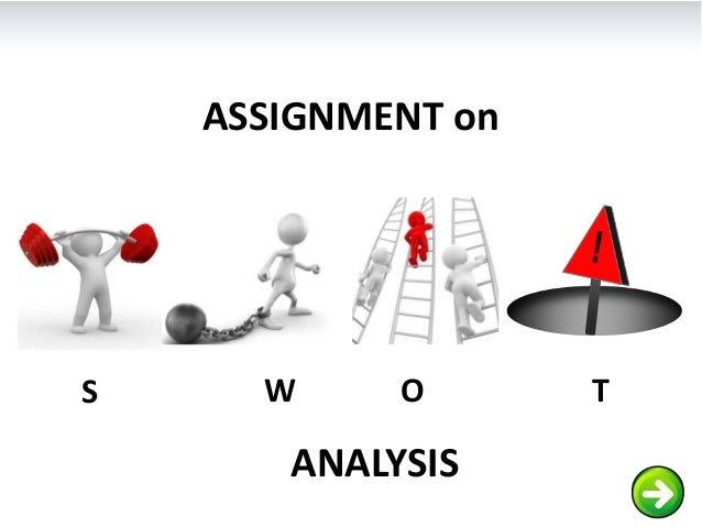 ASSIGNMENT onS     W     O       T       ANALYSIS