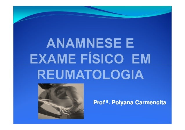 Anamnese e-exame-fisico