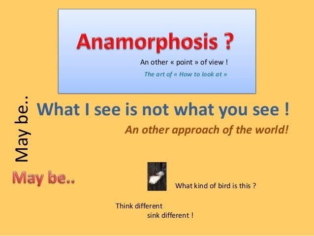 Anamorphosis