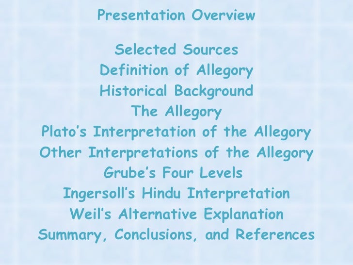 an overview of the theory of dimensions in the allegory of the cave by plato