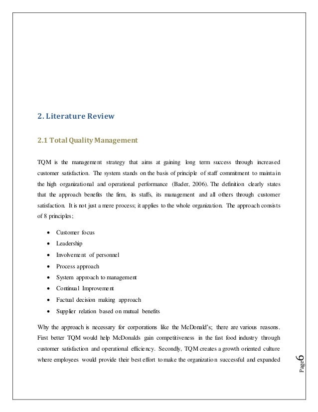 Tqm research questionnaire