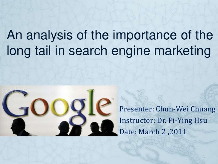 An analysis of the importance of the long tail in search engine marketing