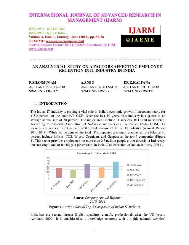 INTERNATIONAL JOURNAL OFManagement (IJARM), ISSN 0976 – 6324International Journal of Advanced Research in ADVANCED RESEARC...