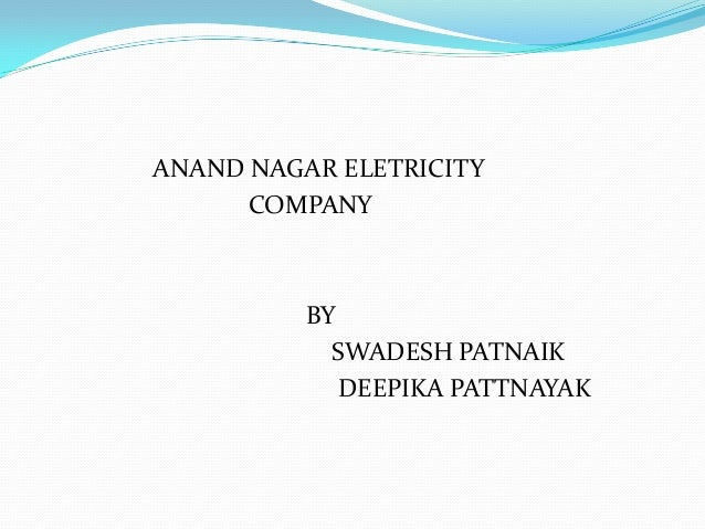 Anand nagar electricity company