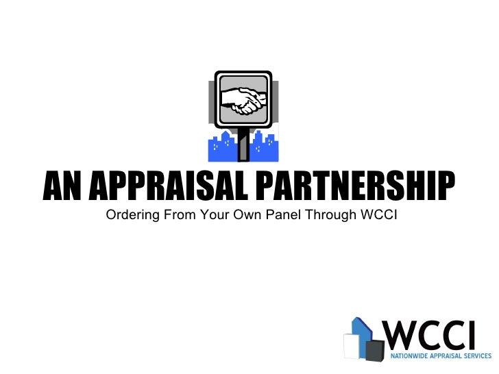 A Nationwide Appraisal Partnership