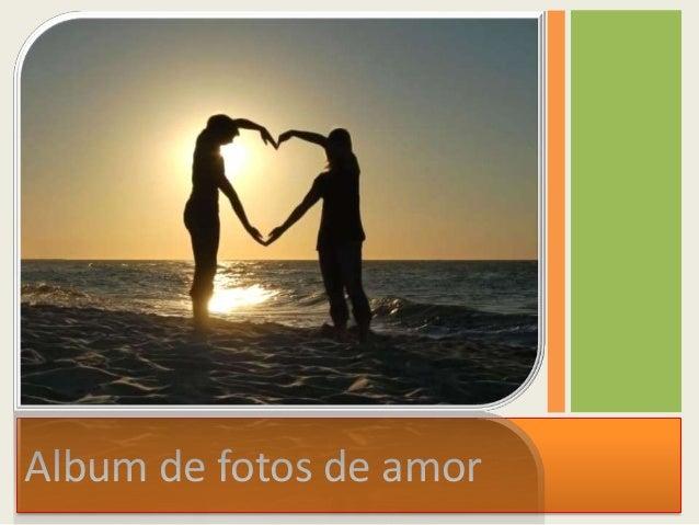 Album de fotos de amor