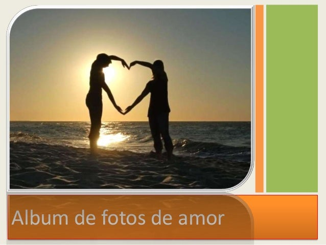 Album de fotos de amor