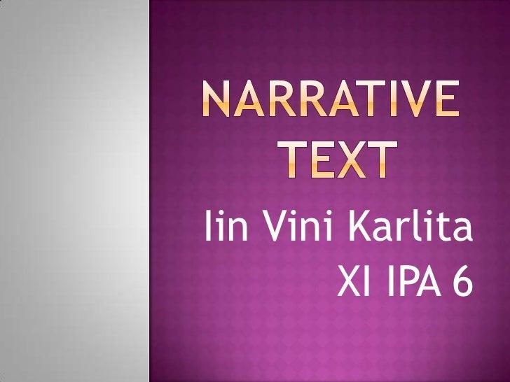 Iin Vini Karlita        XI IPA 6