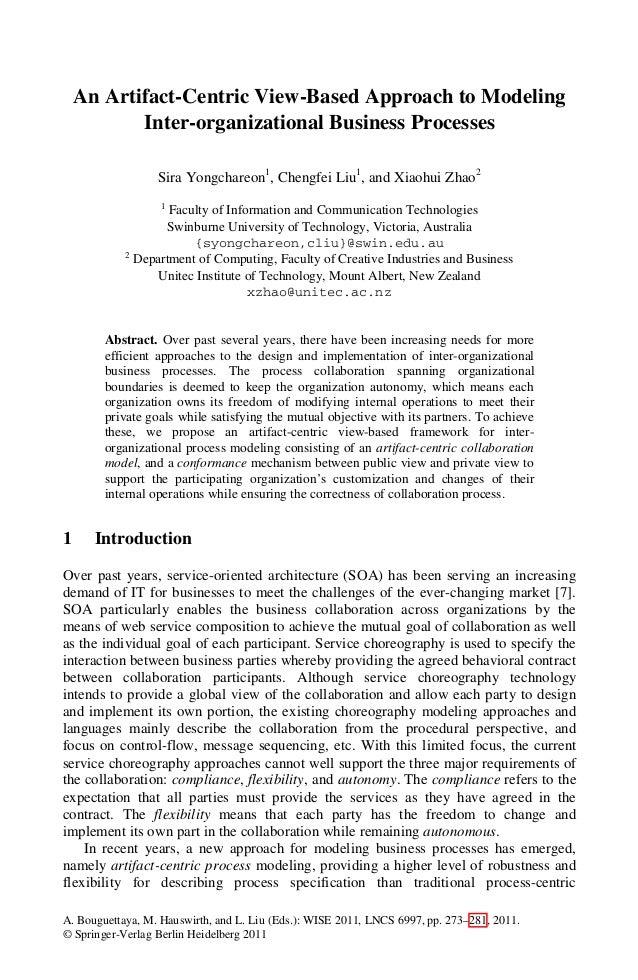 A. Bouguettaya, M. Hauswirth, and L. Liu (Eds.): WISE 2011, LNCS 6997, pp. 273–281, 2011. © Springer-Verlag Berlin Heidelb...