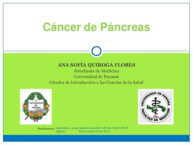 Cáncer de Páncreas UP Med