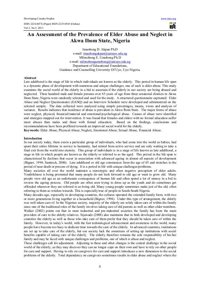 Developing Country Studies www.iiste.orgISSN 2224-607X (Paper) ISSN 2225-0565 (Online)Vol.3, No.5, 20138An Assessment of t...