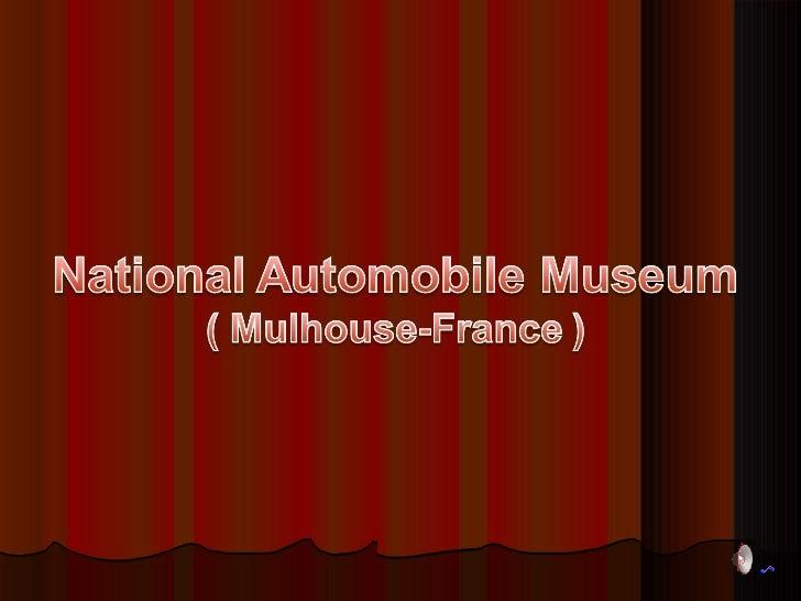 Museu Nacional de automóveis Mulhouse - França