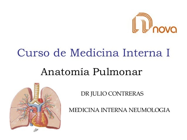 Anatomía pulmonar udem 1
