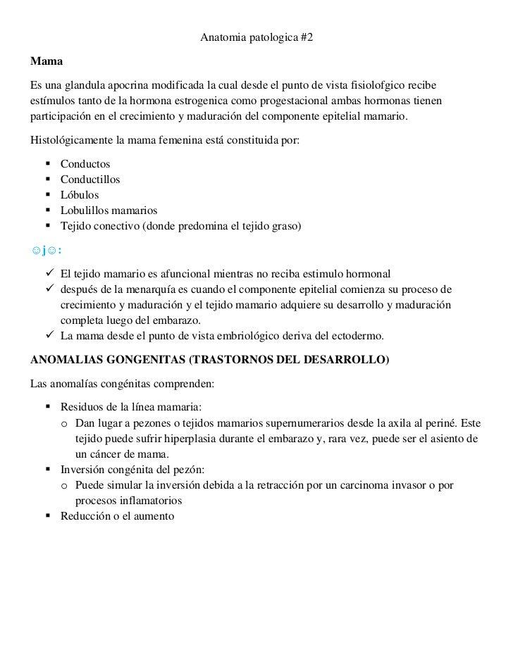 Anatomia patologica ii