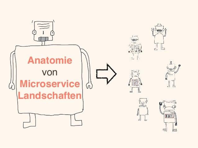Anatomie von Microservice Landschaften