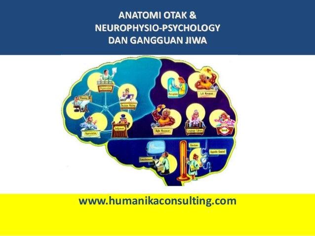 ANATOMI OTAK &  NEUROPHYSIO-PSYCHOLOGY    DAN GANGGUAN JIWAwww.humanikaconsulting.com