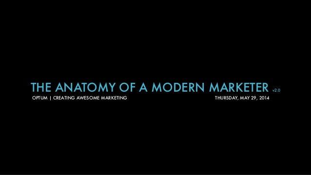Anatomy of a Modern Marketer v2.0
