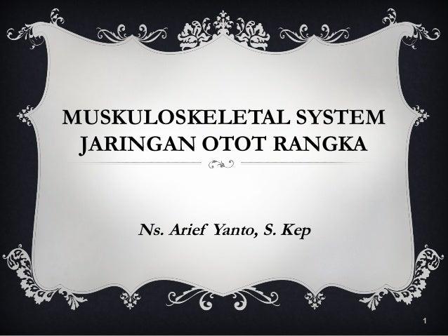 Anatomy muskuloskeletal system (jaringan otot)