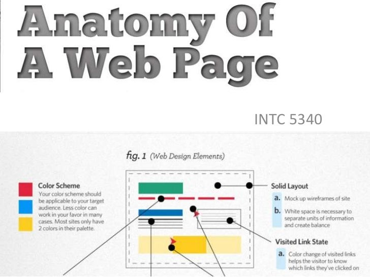 Anatomy of a web browser